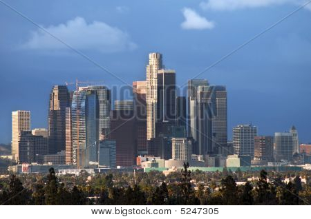 City-scape Of Downtown Los Angeles
