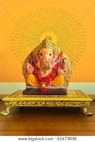 Hindu God Ganesha idol