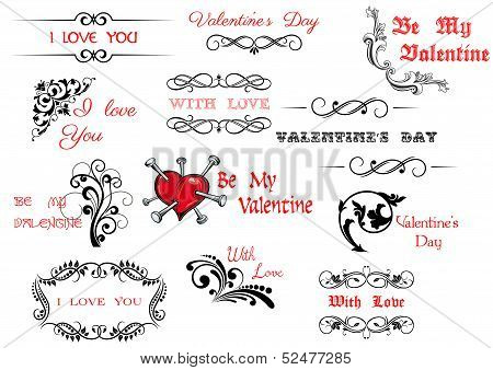 Valentine's Day Scripts And Decorations