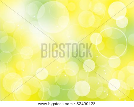 Bright spring bokeh background