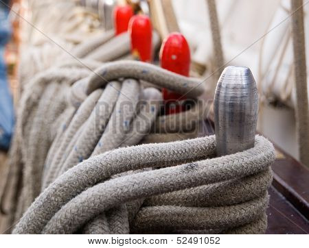 Ropes And Belaying Pin