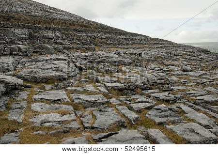 The Burren Landscape, Co. Clare - Ireland
