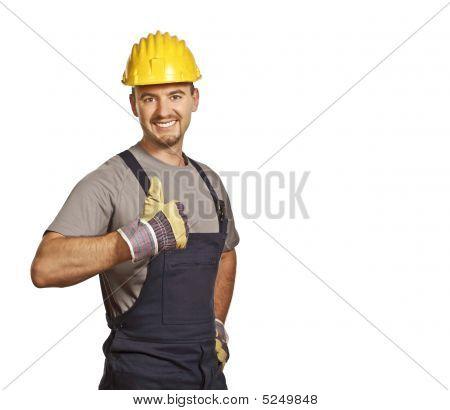 Young Confident Handyman