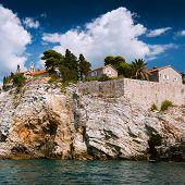 Постер, плакат: Island Of Sveti Stefan Montenegro