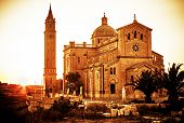 foto of gozo  - The famous Madonna church on the island of GOZO - JPG