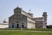Pisa, Cathedral And Leaning Tower