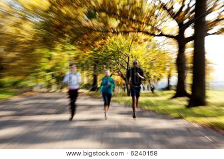 Park Jogging