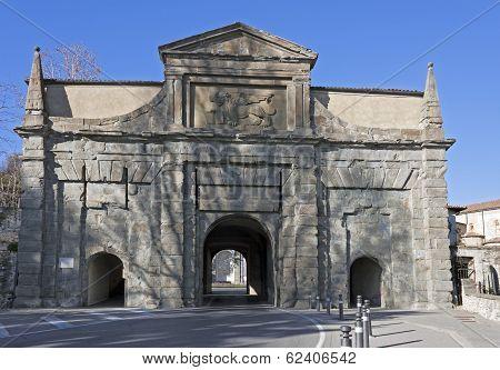 City gate, Bergamo
