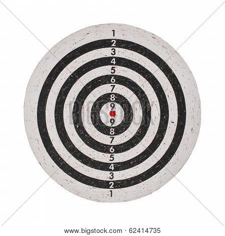 Success Concept, Target On Dartboard