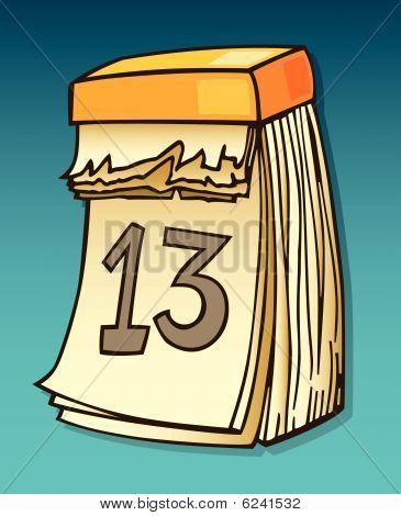 thirteenth on calendar
