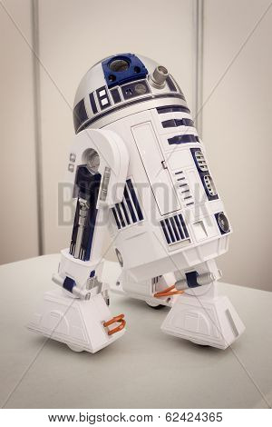 R2-d2 Model At Robot And Makers Show