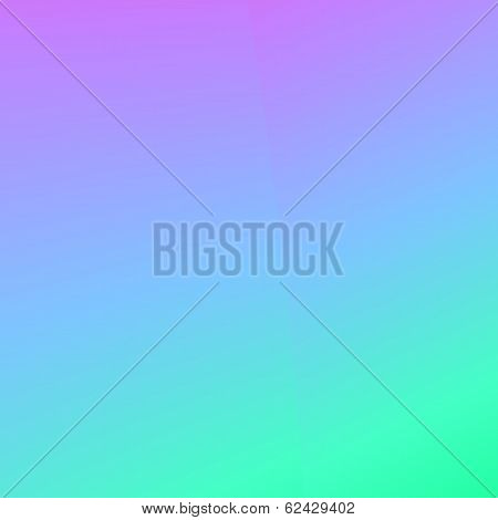 Background blur in cool tropical water colors
