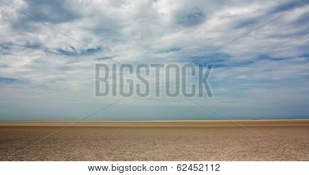 Empty quarter in deserted Dhanushkodi island, Tamilnadu, India