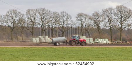 Application Of Manure On Arable