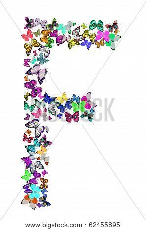 Butterfly font