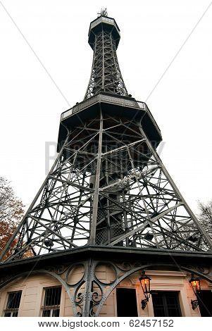 Petrin Tower In Prague