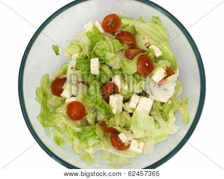 Salad With Feta-cheese