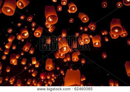 Yee Peng festival of Thailand