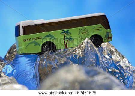 Sight Seeing Bus Model