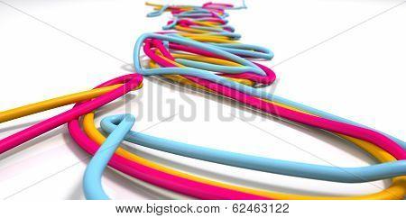 Luminous Cables Closeup