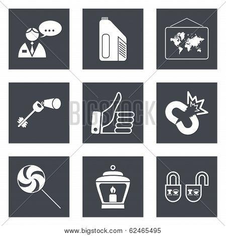 Icons for Web Design set 35