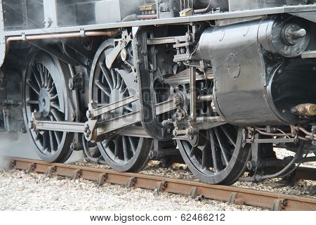 Steam Train Engine.