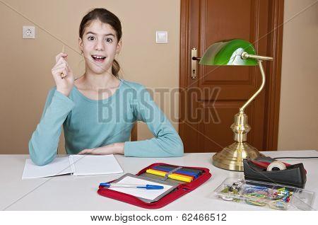 Young Woman Big Idea