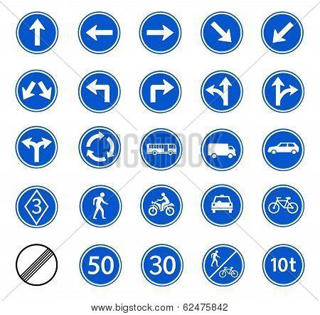 Traffic Regulatory Sign