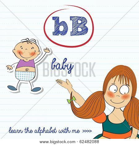 Alphabet Worksheet Of The Letter B