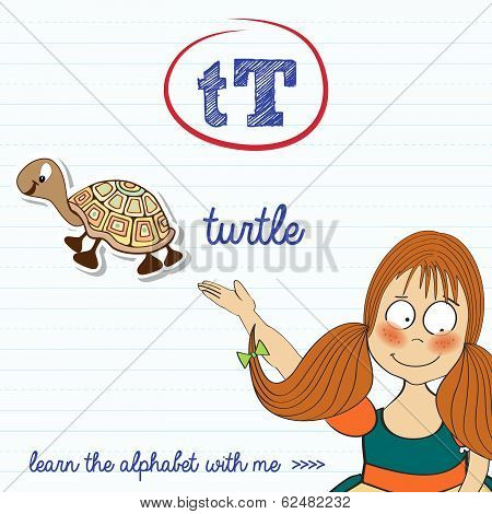 Alphabet Worksheet Of The Letter T