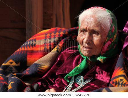 Elderly Native American Woman