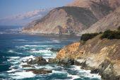 picture of bixby  - Bixby Creek Arch Bridge near Big Sur in California USA  - JPG