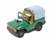 Retro Toy Military car