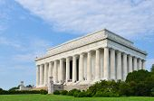 Lincoln Memorial in Washington D.C., United States