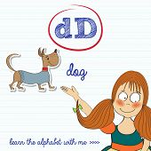 Alphabet Worksheet Of The Letter D