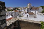 The Beautiful Church In Tavira, Algarve, Portugal