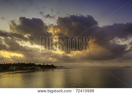 Fishing Village Sunrise
