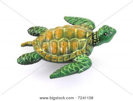 Overhead View Sea Turtle