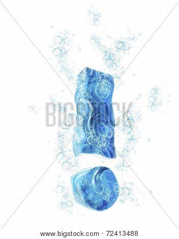 Liquid 3D Sign