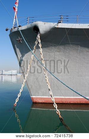 Russian Warship, Novorossiysk, Russia.