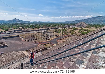 Teotihuacan, Aztec ruins, Mexico
