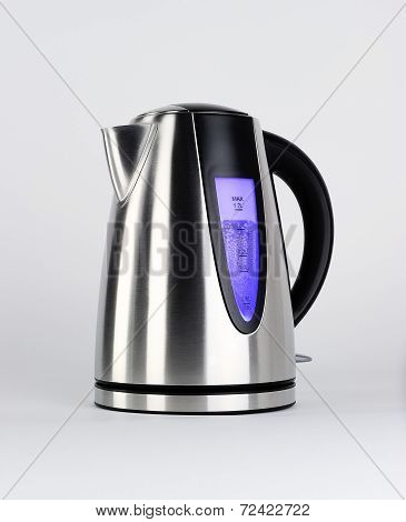Steel electric kettle