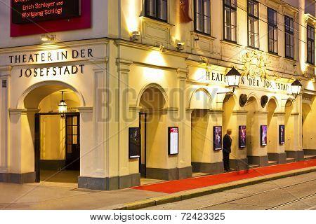 Theater In Der Josefstadt Of Vienna