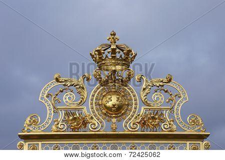 Golden archway
