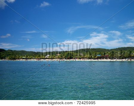 Mahogany Bay Beach
