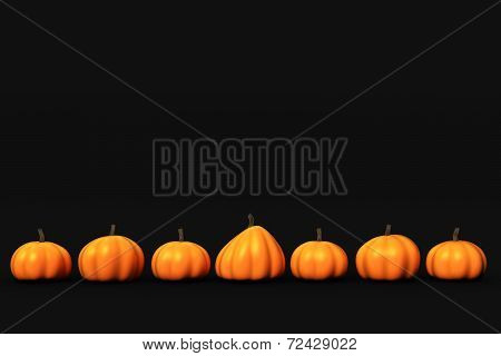 Dark Pumpkin Background