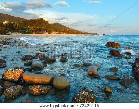 Beach Sunset View (greece, Lefkada).