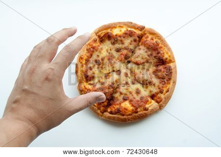 Hand To Touch Pizza