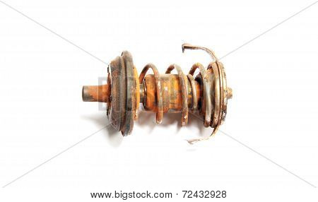 Old Spring Spark Plug In Autopart