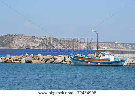 Fishing Ship At The Pier